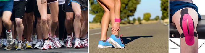 Douleur au genou coureurs